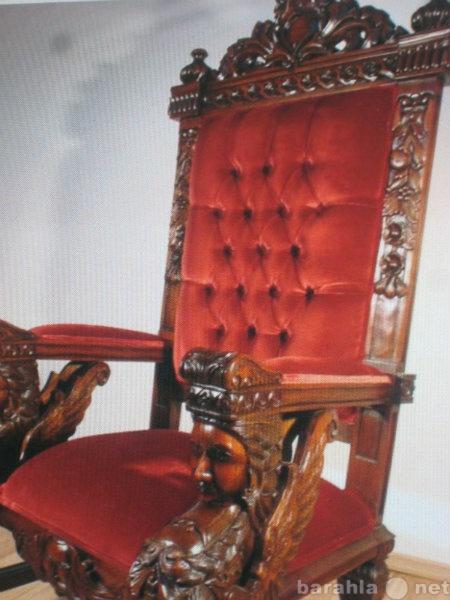 Предложение: Реставрация антикварной мебели