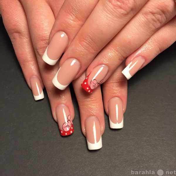 Предложение: Наращивание ногтей shellac педикюр