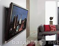 Предложение: Установка ТВ ЖК на стеновой кронштейн