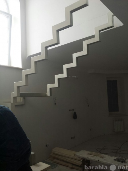 Предложение: металлические каркасы лестниц по всему Т