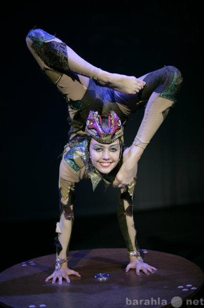 Предложение: Артистка оригинального жанра гимнастка