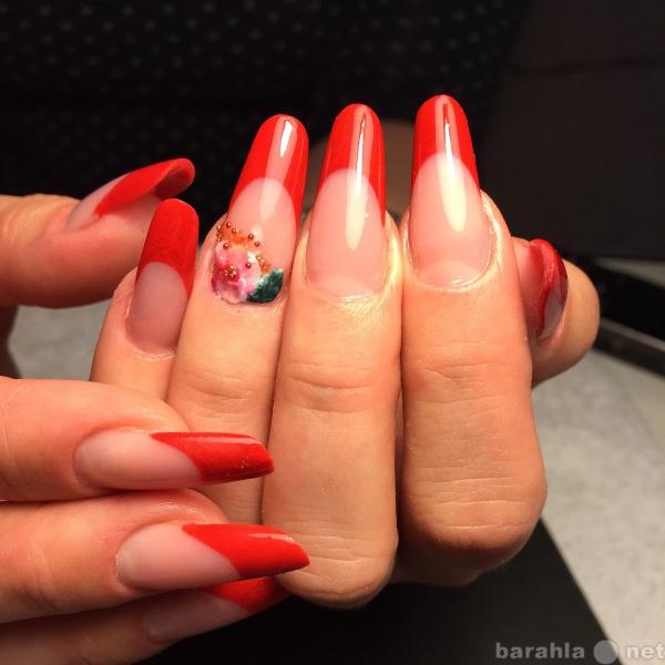 Предложение: Наращивание ногтей, Shellac, педикюр
