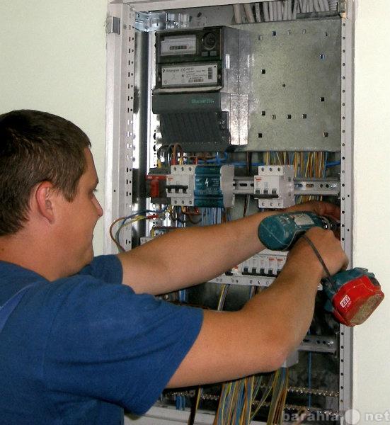Предложение: Расценки услуг электрика.