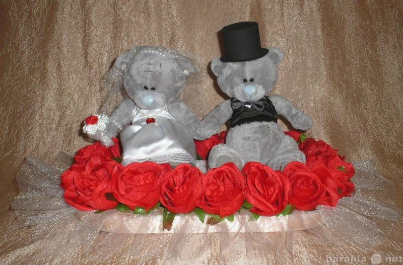 Предложение: Прокат свадебных медведей на крышу авто