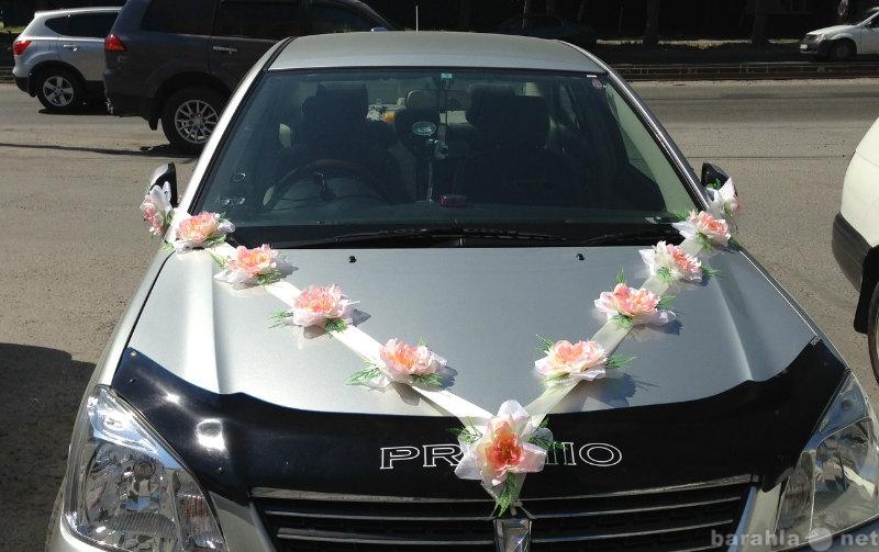 Предложение: Свадебные ленты на машину Ангелина