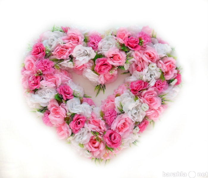 Предложение: Свадебное сердце на машину Принцесса
