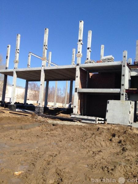 Предложение: Монтаж железобетонных конструкций.