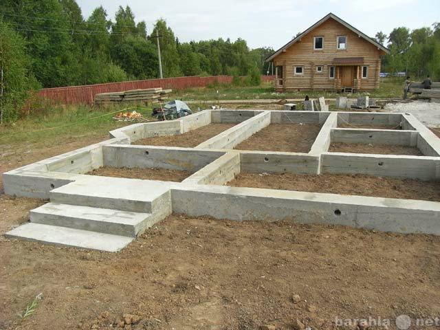 Предложение: Фундаментные, земляные, дренажные работы