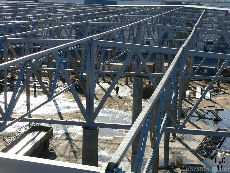 Предложение: Монтаж металлоконструкций