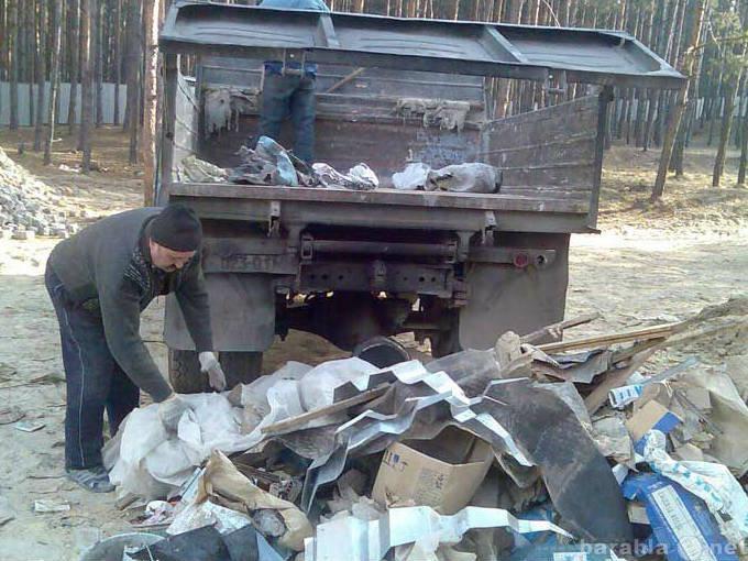 Предложение: Вывозим,выносим,грузим мусор!