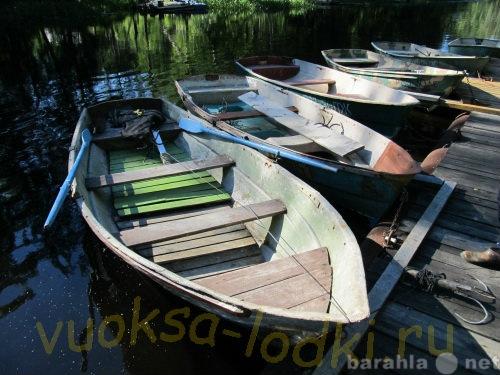 Предложение: Прокат весельный  лодок на Вуоксе