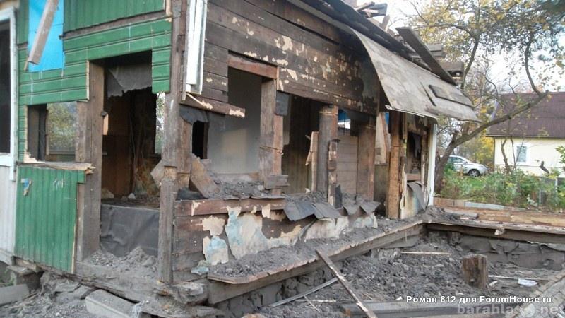 Предложение: уборка участков, демонтаж строений