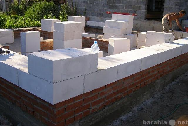 Предложение: кладка кирпича, блоков и т.д.