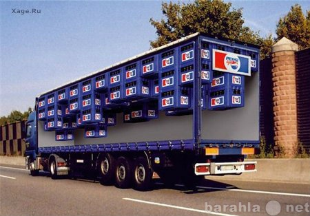 Предложение: Реклама на тентах грузовых автомобилей
