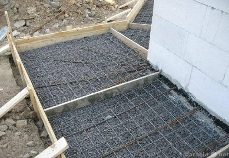 Предложение: кладка кирпича, бетонные работы