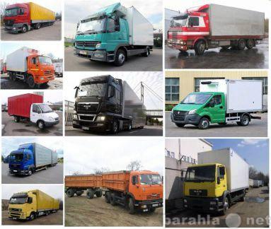 Предложение: Перевозка грузов и переезды по РОССИИ
