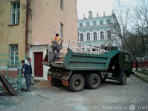Предложение: Вывоз мусора, старой мебели на свалку