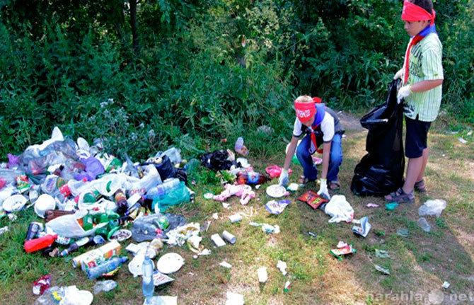 Предложение: Уборка территорий от мусора и снега.