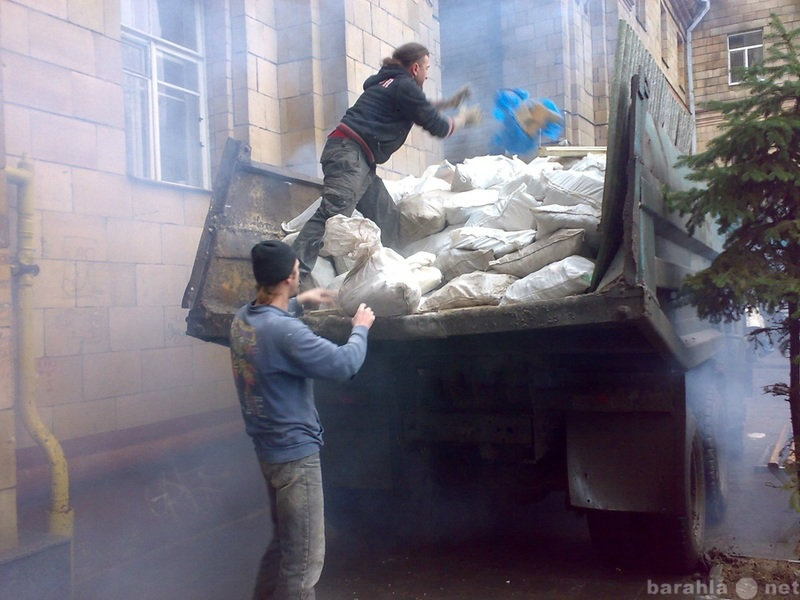 Предложение: Очистим вашу территорию от мусора,снега!