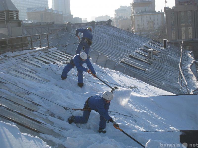 Предложение: Уборка снега,чистка крыш от наледи