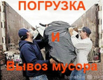 Предложение: Вывоз мусора.Всегда трезвые грузчики