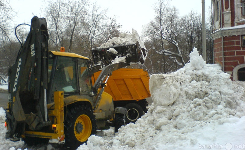Предложение: Уборка  и вывоз снега.