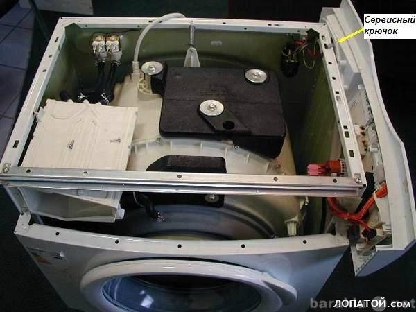 Предложение: Ремонт автоматических стиральных машин.