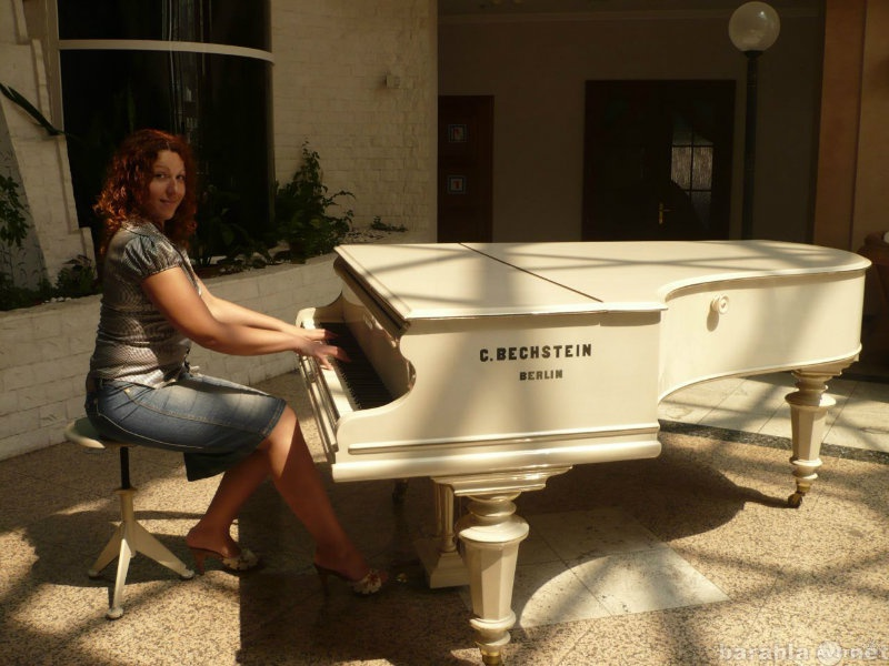 Предложение: Частные уроки игры на фортепиано