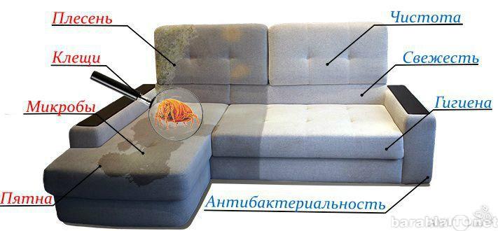Предложение: Химчистка диванов, ковров, матрасов-30%