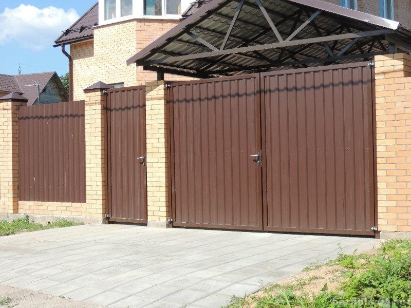 Предложение: Забор / ограда.Калитка,ворота,навес