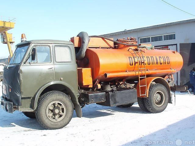 Предложение: Услуги бензовоза до 8 куб. м.