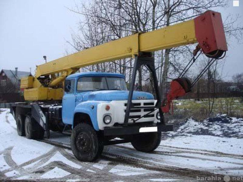 Предложение: Услуги, заказ автокрана 10 тонн
