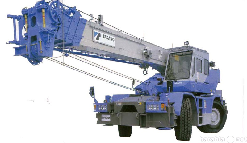Предложение: Услуги, заказ автокрана 30 тонн
