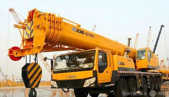 Предложение: Услуги, заказ автокрана 100 тонн