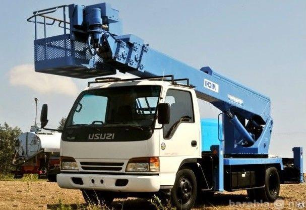 Предложение: Услуги, заказ автовышки 12 метров