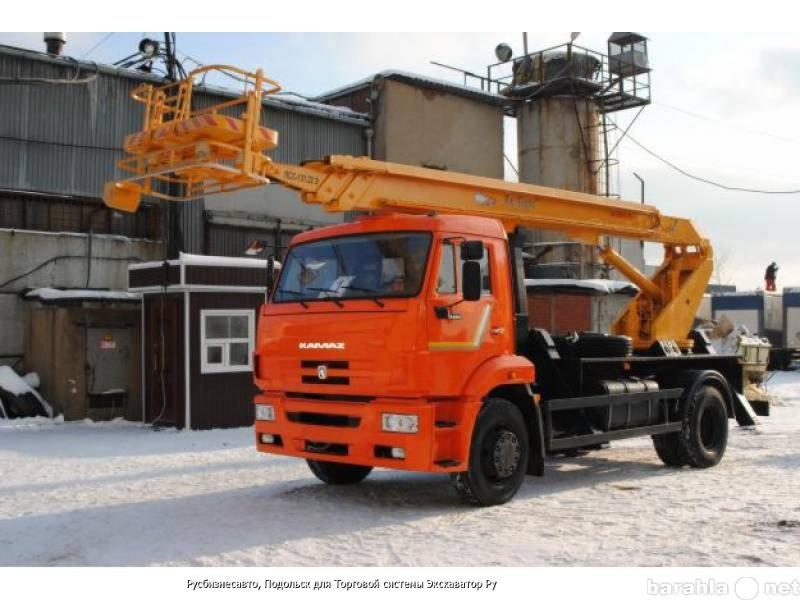 Предложение: Услуги, заказ автовышки 22 метра