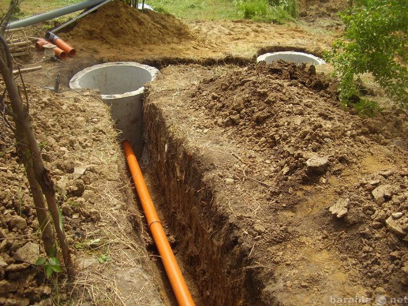 Предложение: Монтаж выгребной ямы