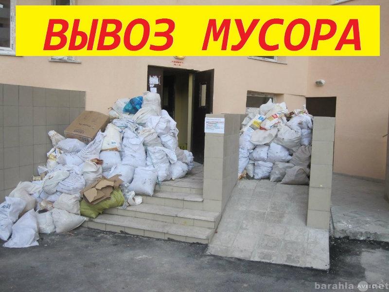 Предложение: Вывоз строительного и другого мусора