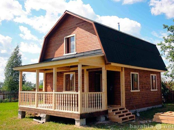 Предложение: Каркасный дом построим под ключ