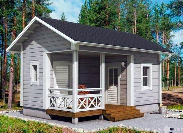 Предложение: Каркасный дом на даче построим