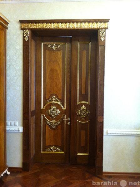 Предложение: Двери на заказ из массива дерева