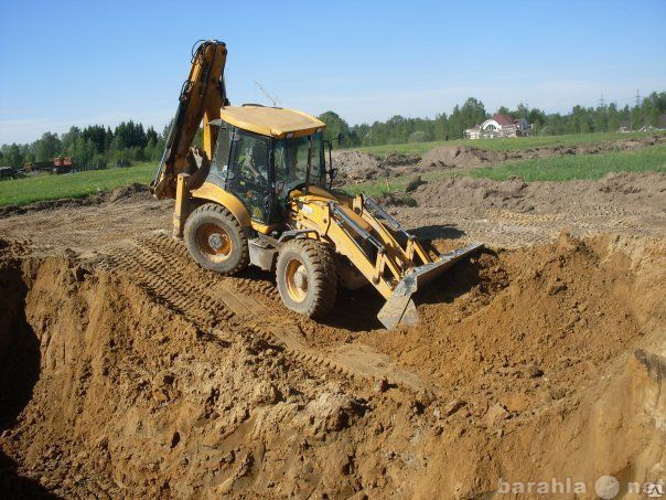 Предложение: Строительство - земляные работы