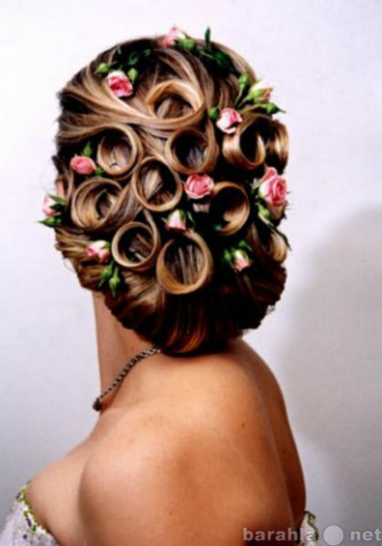Предложение: свадебные и вечерние причёски . макияж.