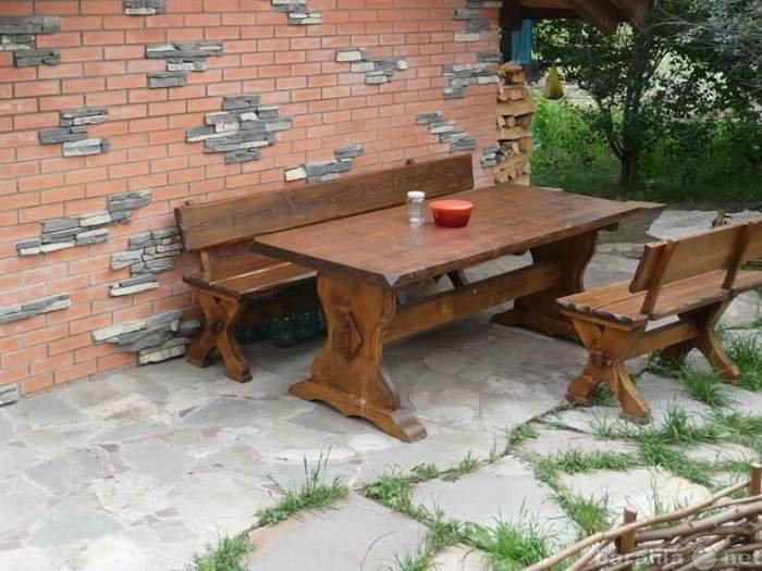 Предложение: Столы , лавки , садовая мебель