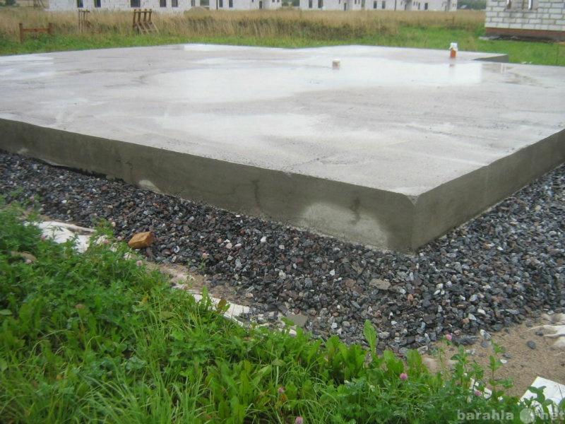 Предложение: Строительство фундамента, цокольный этаж