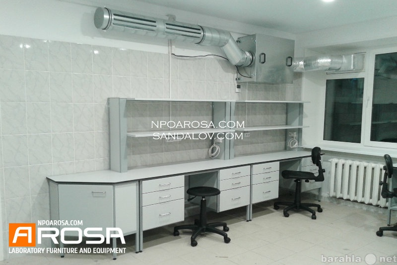 Предложение: Лабораторная мебель в Челябинске.