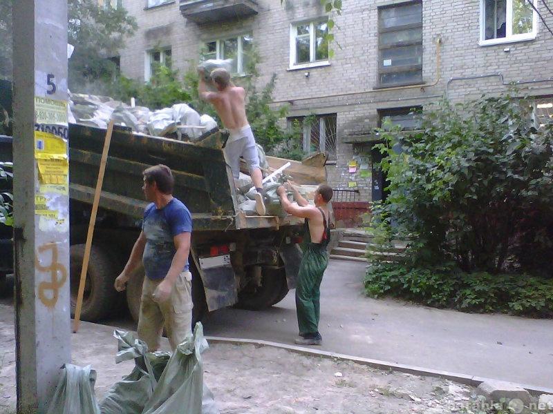 Предложение: Вывоз строительного мусора на свалку