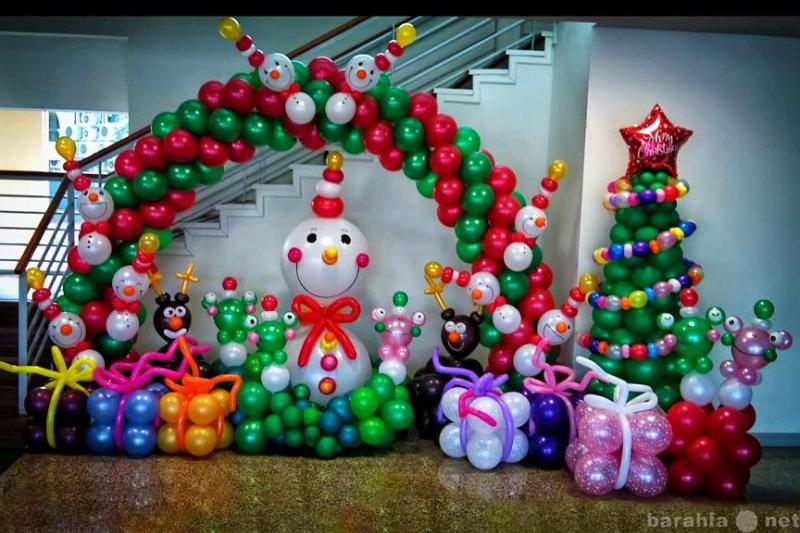 Предложение: Украшение оформление новогодних торжеств