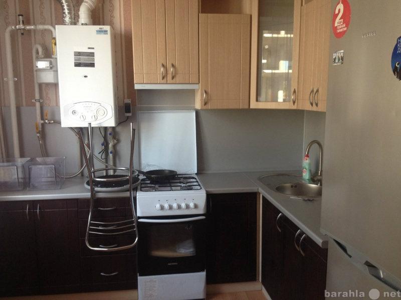 фото кухни с котлом индивид отопления всех