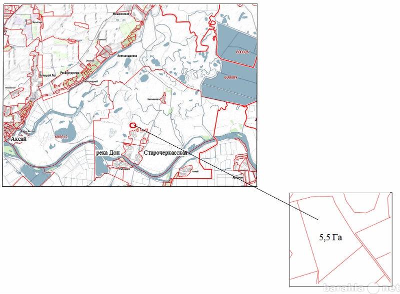 Продам: Участок 5,5 Га земли сельхохназначения